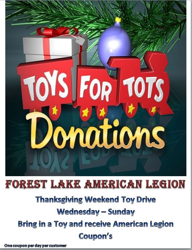 American Legion 2017 Toys For Tots : American legion post home page
